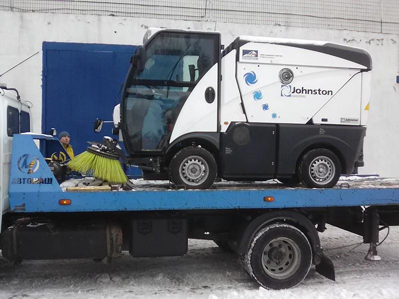 Перевозка снегоходов и спецтехники
