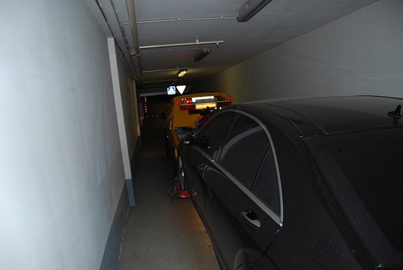 Эвакуация из подземных парковок